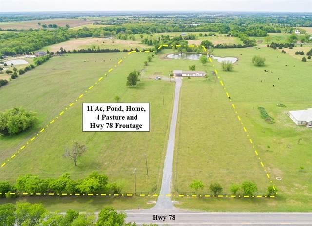 19383 S State Highway 78, Leonard, TX 75452 (MLS #14564519) :: The Kimberly Davis Group
