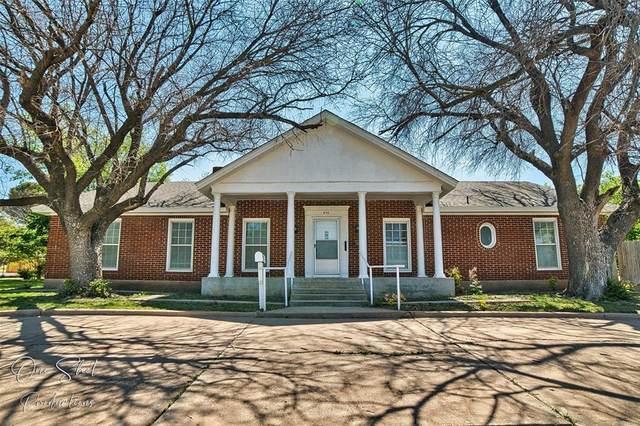 933 Washington Boulevard, Abilene, TX 79601 (#14564530) :: Homes By Lainie Real Estate Group