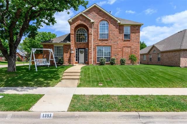 1393 Prairie Drive, Lewisville, TX 75067 (MLS #14564537) :: Team Tiller