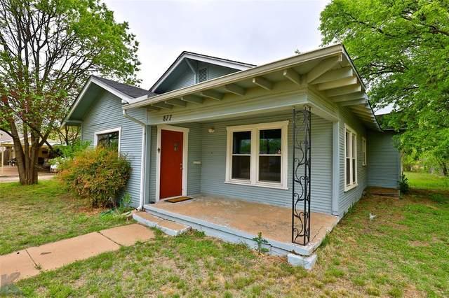877 Beech Street, Abilene, TX 79601 (MLS #14564542) :: The Kimberly Davis Group