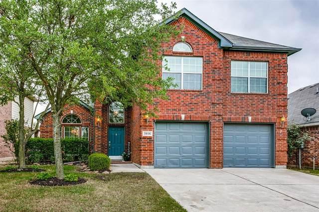 3816 Cedar Falls Drive, Fort Worth, TX 76244 (MLS #14564585) :: Wood Real Estate Group
