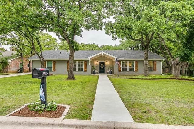 4419 Woodridge Drive, Arlington, TX 76013 (MLS #14565063) :: Wood Real Estate Group