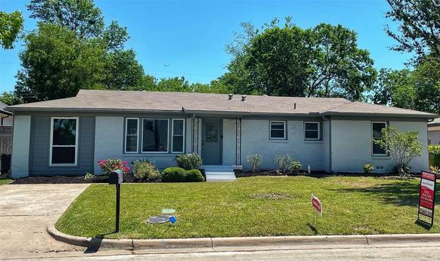 1321 S Pine Street, Grapevine, TX 76051 (MLS #14565078) :: Frankie Arthur Real Estate