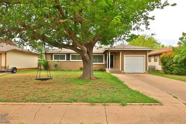 834 Briarwood Street, Abilene, TX 79603 (#14565110) :: Homes By Lainie Real Estate Group