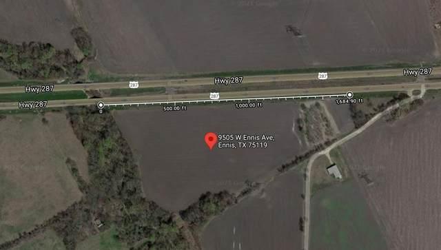 9505 W Ennis Avenue, Ennis, TX 75119 (MLS #14565140) :: VIVO Realty