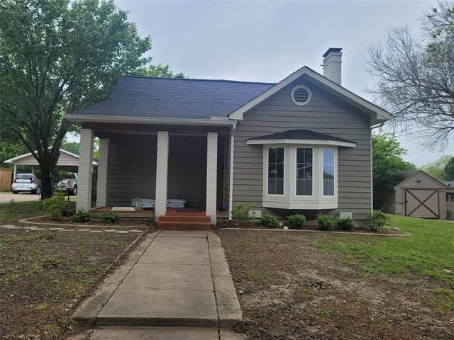 1107 N Preston Street, Ennis, TX 75119 (MLS #14565201) :: Wood Real Estate Group
