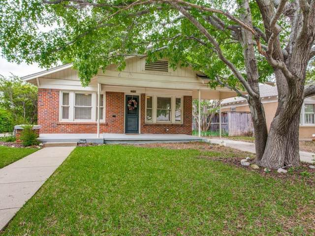2544 Wabash Avenue, Fort Worth, TX 76109 (MLS #14565412) :: Front Real Estate Co.