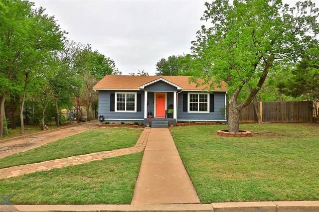 2210 S 8th Street, Abilene, TX 79605 (MLS #14565775) :: Wood Real Estate Group