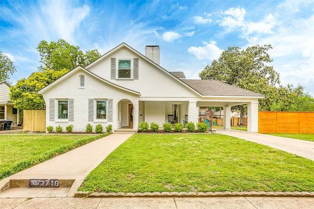 2719 Waits Avenue, Fort Worth, TX 76109 (MLS #14565790) :: The Mitchell Group
