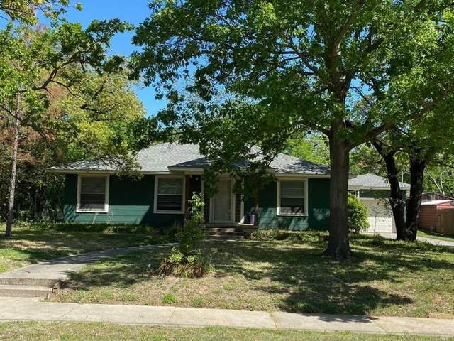 117 Forest Street, Denton, TX 76209 (MLS #14565863) :: The Mauelshagen Group