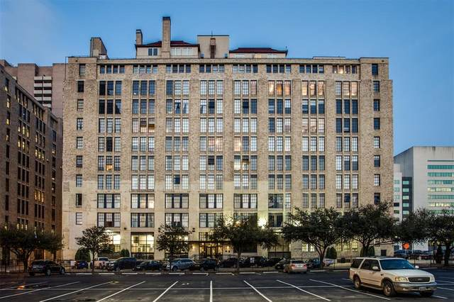 1122 Jackson Street #1108, Dallas, TX 75202 (MLS #14565938) :: All Cities USA Realty
