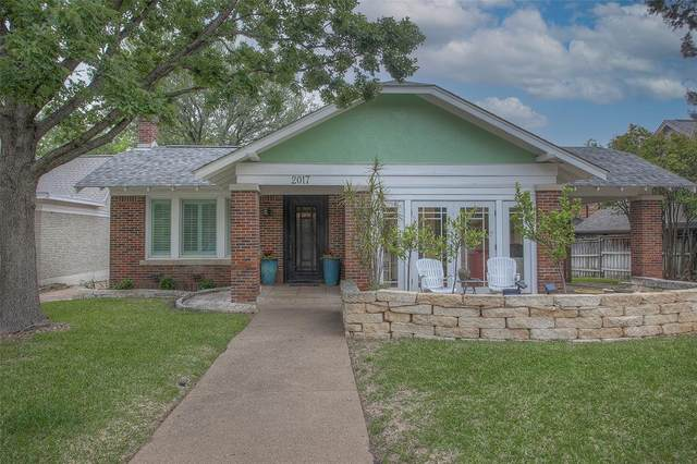 2017 Thomas Place, Fort Worth, TX 76107 (MLS #14566007) :: All Cities USA Realty
