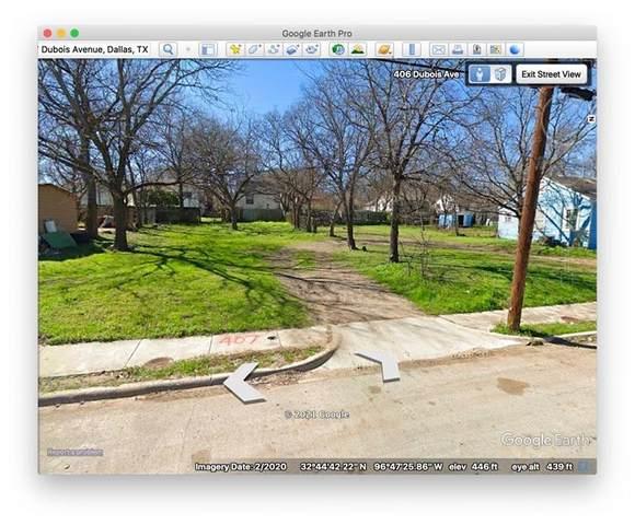 407 Dubois Avenue, Dallas, TX 75203 (MLS #14566693) :: The Juli Black Team