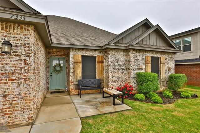 7334 Tuscany Drive, Abilene, TX 79606 (MLS #14566755) :: Trinity Premier Properties