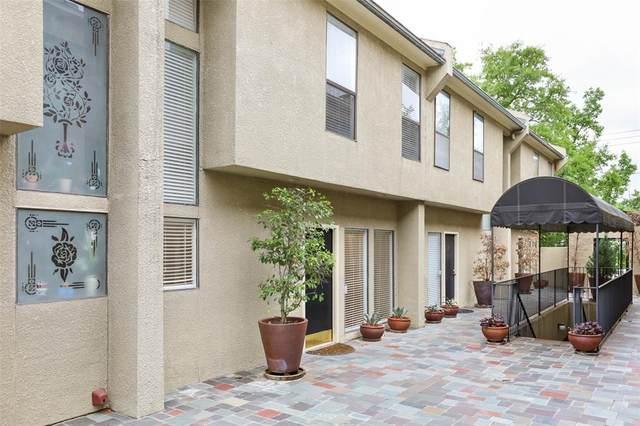 4242 Travis Street #109, Dallas, TX 75205 (MLS #14566824) :: Jones-Papadopoulos & Co