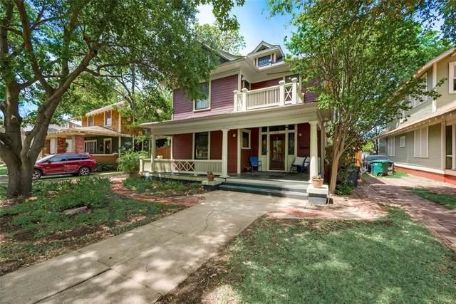 1710 Fairmount Avenue, Fort Worth, TX 76110 (MLS #14566918) :: The Kimberly Davis Group