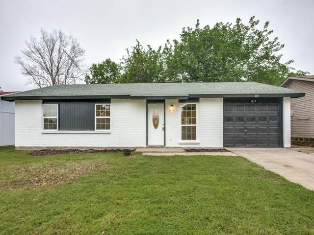 930 Briarwood Drive, Lewisville, TX 75067 (MLS #14567173) :: Wood Real Estate Group