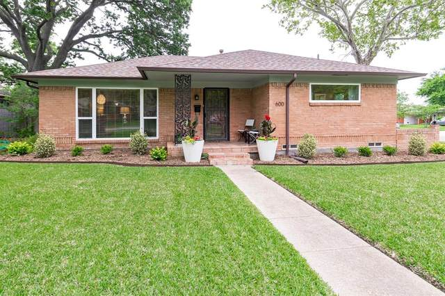 600 Sherwood Drive, Richardson, TX 75080 (MLS #14567181) :: RE/MAX Pinnacle Group REALTORS