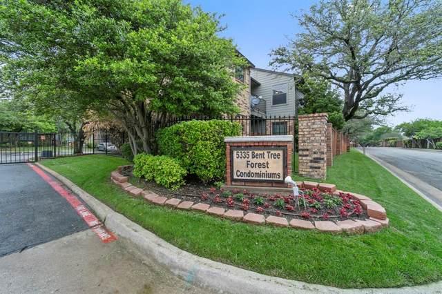 5335 Bent Tree Forest Drive #245, Dallas, TX 75248 (MLS #14567412) :: RE/MAX Pinnacle Group REALTORS