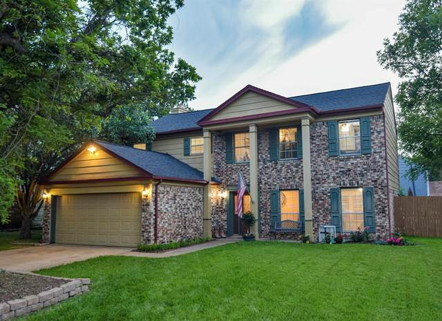 1707 Woodhollow, Euless, TX 76039 (MLS #14567430) :: The Kimberly Davis Group