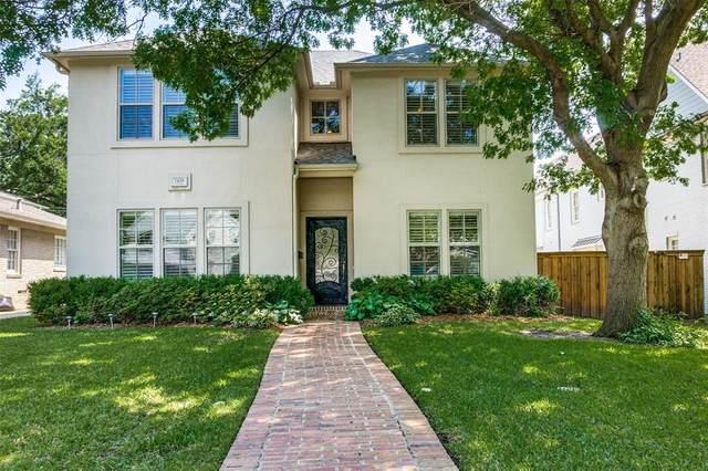 7428 Centenary Avenue, Dallas, TX 75225 (MLS #14567518) :: The Kimberly Davis Group
