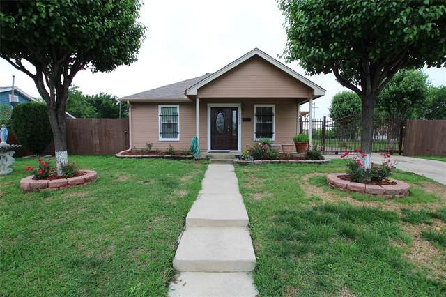 2550 High Crest Avenue, Fort Worth, TX 76111 (MLS #14567751) :: The Kimberly Davis Group