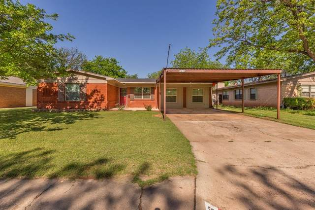 1656 Beechwood Lane, Abilene, TX 79603 (MLS #14567933) :: Frankie Arthur Real Estate