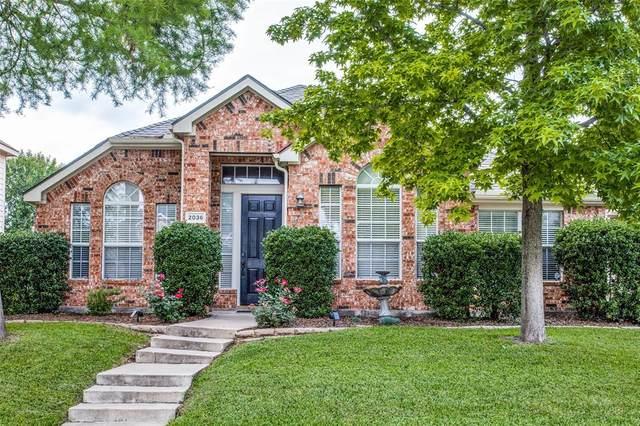 2036 Camelot Drive, Allen, TX 75013 (MLS #14568046) :: Real Estate By Design