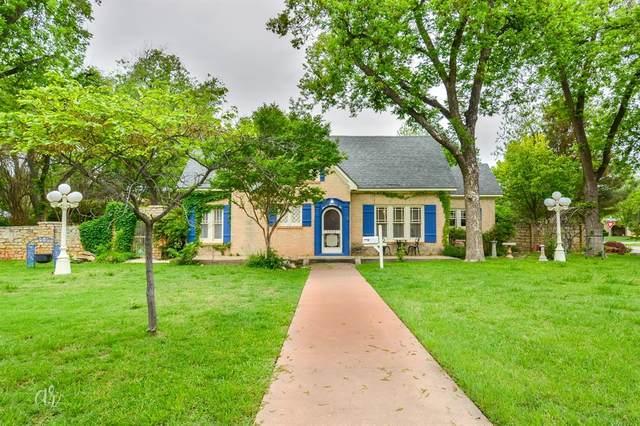 1102 Hollis Drive, Abilene, TX 79605 (MLS #14568257) :: Maegan Brest | Keller Williams Realty