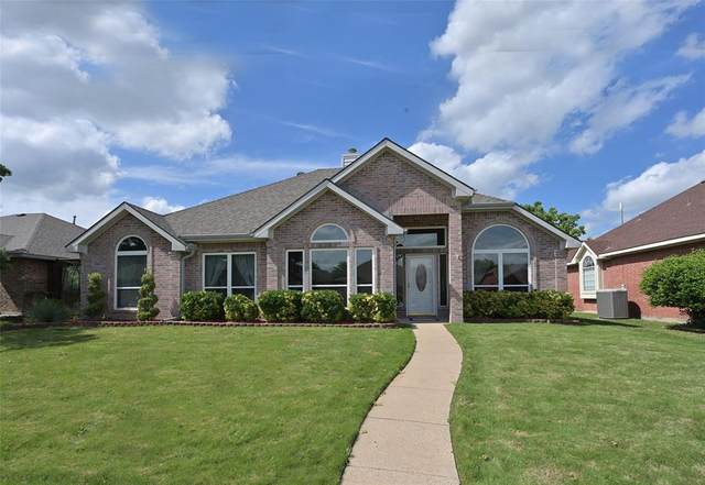 1525 Waterford Drive, Lewisville, TX 75077 (MLS #14568282) :: The Kimberly Davis Group
