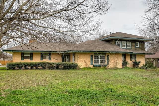 2508 Washington Street, Commerce, TX 75428 (MLS #14568296) :: Real Estate By Design