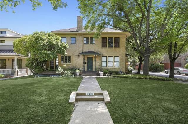 6000 Velasco Avenue, Dallas, TX 75206 (MLS #14568456) :: RE/MAX Pinnacle Group REALTORS