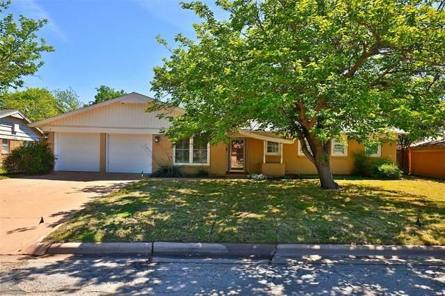 2449 Campus Court, Abilene, TX 79601 (MLS #14568468) :: The Kimberly Davis Group