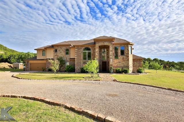 642 Cedar Creek Ranch Trail, Tuscola, TX 79562 (MLS #14568601) :: The Tierny Jordan Network