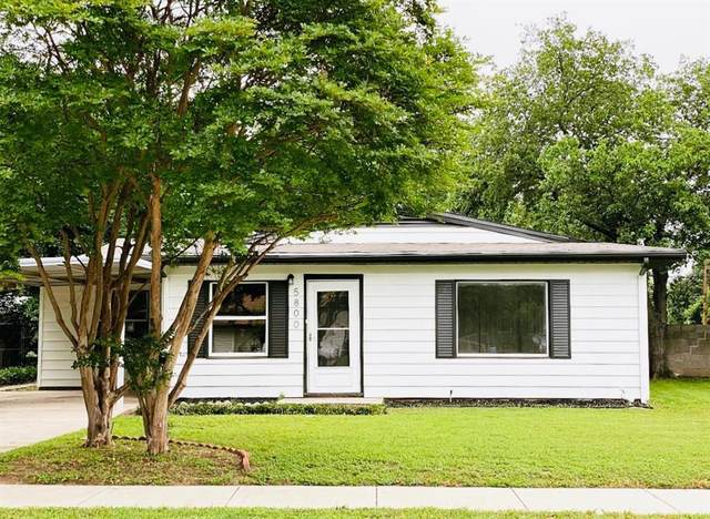 5800 Lyle Street, Westworth Village, TX 76114 (MLS #14568605) :: All Cities USA Realty
