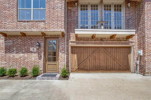 4033 Buena Vista Street B, Dallas, TX 75204 (MLS #14568739) :: RE/MAX Pinnacle Group REALTORS