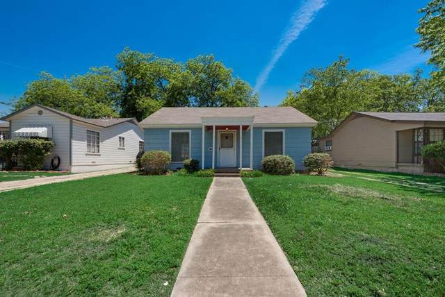 3313 8th Avenue, Fort Worth, TX 76110 (MLS #14568941) :: 1st Choice Realty
