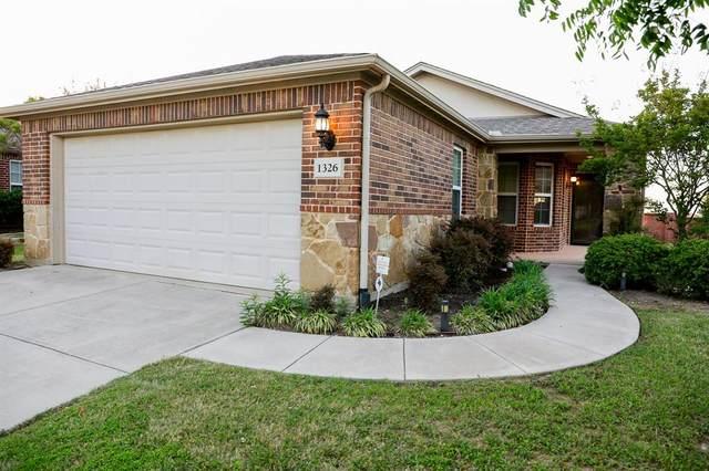 1326 Troon Drive, Frisco, TX 75036 (MLS #14569135) :: Frankie Arthur Real Estate