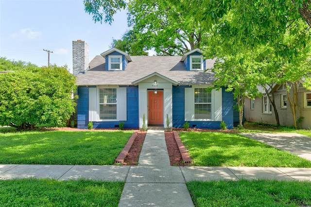 4616 Byers Avenue, Fort Worth, TX 76107 (MLS #14569353) :: The Kimberly Davis Group