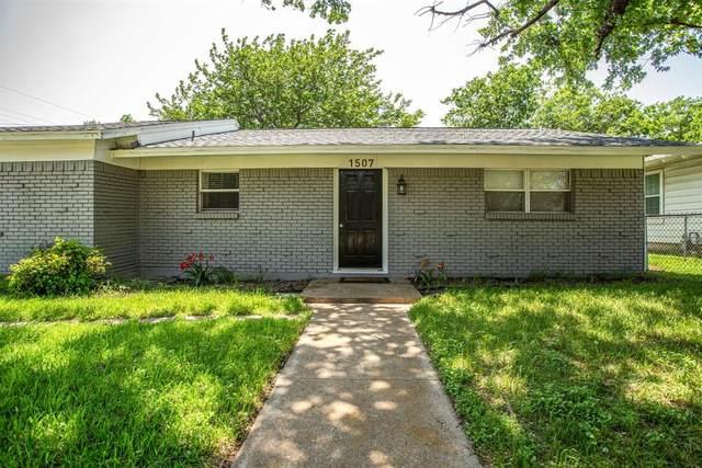 1507 Granbury Street, Cleburne, TX 76033 (MLS #14569370) :: Team Hodnett