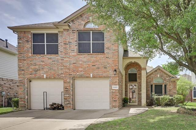 1403 Chateau Lane, Mansfield, TX 76063 (MLS #14569593) :: The Krissy Mireles Team
