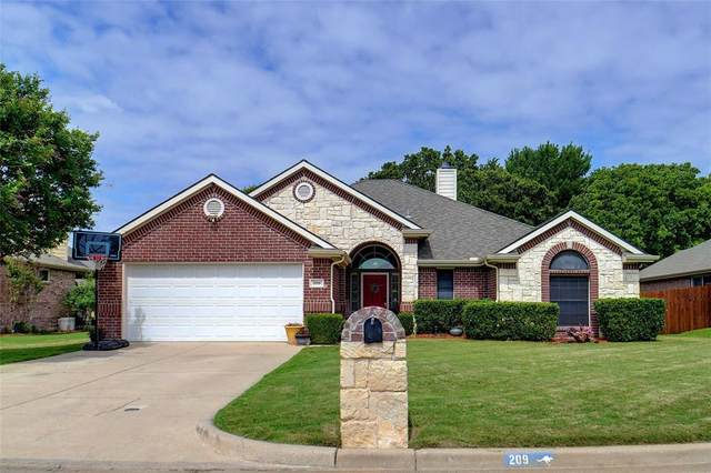 209 Charlie Way, Weatherford, TX 76087 (MLS #14569615) :: Rafter H Realty