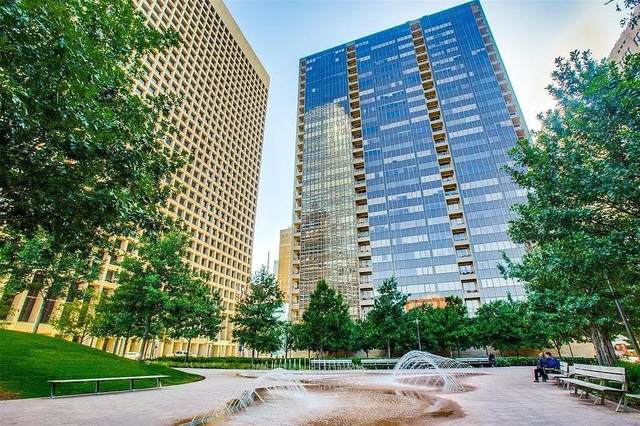 1200 Main Street #2007, Dallas, TX 75202 (MLS #14569676) :: Frankie Arthur Real Estate