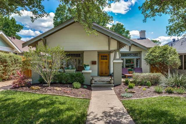 4821 Pershing Avenue, Fort Worth, TX 76107 (MLS #14569882) :: The Kimberly Davis Group