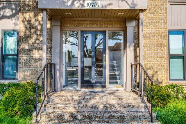 10707 Park Village Place D, Dallas, TX 75230 (MLS #14570211) :: Frankie Arthur Real Estate