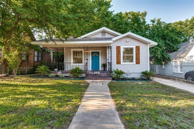 2628 Wilkinson Avenue, Fort Worth, TX 76103 (MLS #14570221) :: The Mauelshagen Group