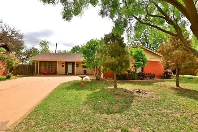 1955 Glenhaven Drive, Abilene, TX 79603 (MLS #14570258) :: Frankie Arthur Real Estate