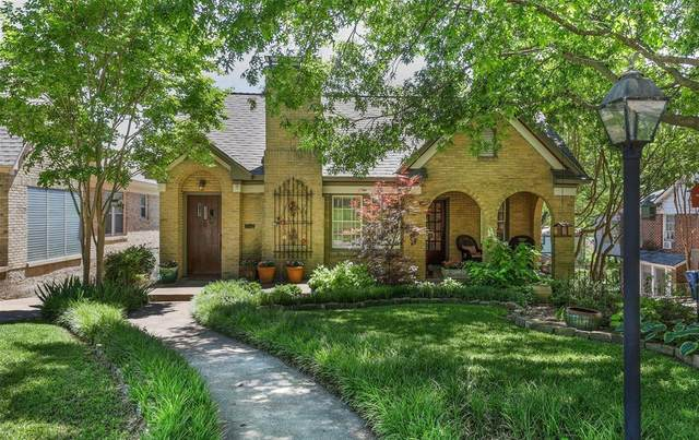 6826 Vivian Avenue, Dallas, TX 75223 (MLS #14570312) :: All Cities USA Realty