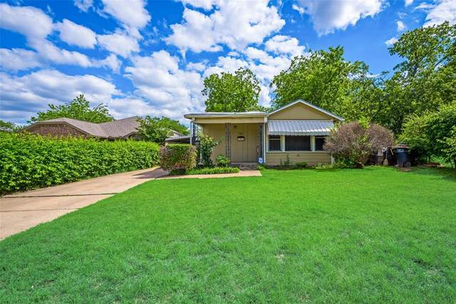 5809 Houghton Avenue, Fort Worth, TX 76107 (MLS #14570423) :: The Kimberly Davis Group
