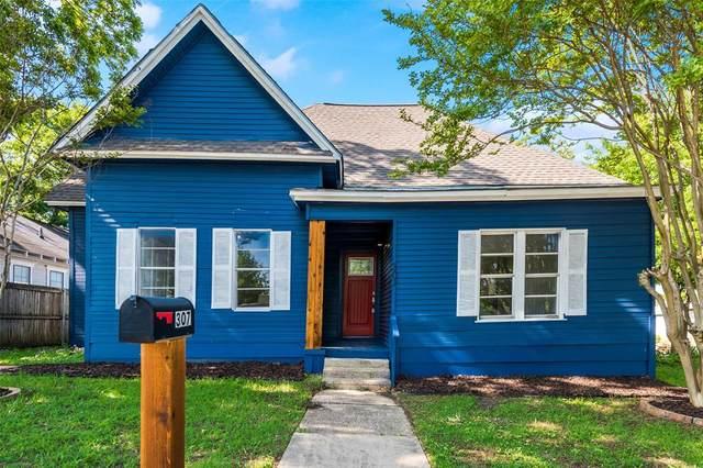 307 E Grove Street, Kaufman, TX 75142 (MLS #14570512) :: VIVO Realty